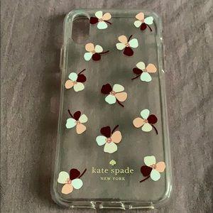 Kate Spade iPhone XS phone case